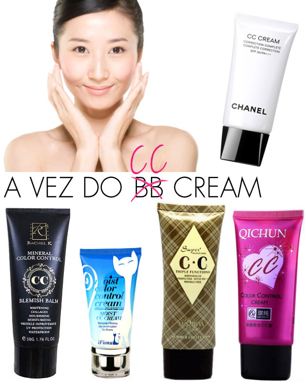 cc cream o substituto do bb cream. Black Bedroom Furniture Sets. Home Design Ideas