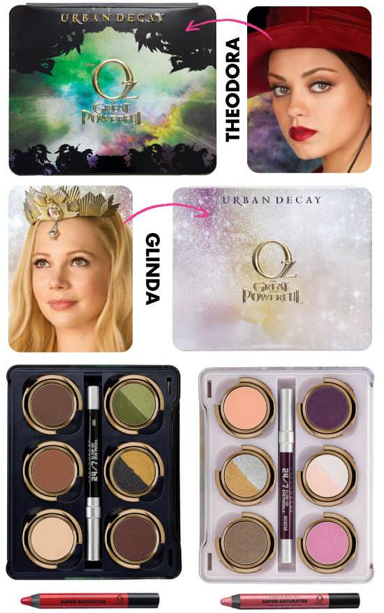 urban-decay-paleta-palette-oz-the-great-and-powerful-o-magico-de-oz-glinda-theodora-michelle-williams-mila-kunis-sombras-lapis-batom