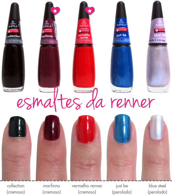 esmaltes-renner-vermelho-renner-just-be-blue-steel-collection-marfinno-swatches-resenha-cremoso-perolado-sorteio
