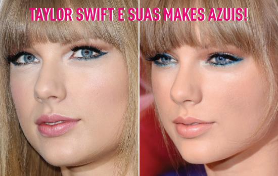 make-azul-blue-makeup-maquiagem-inspiracoes-loiras-taylor-swift-sombra-lapis-delineado