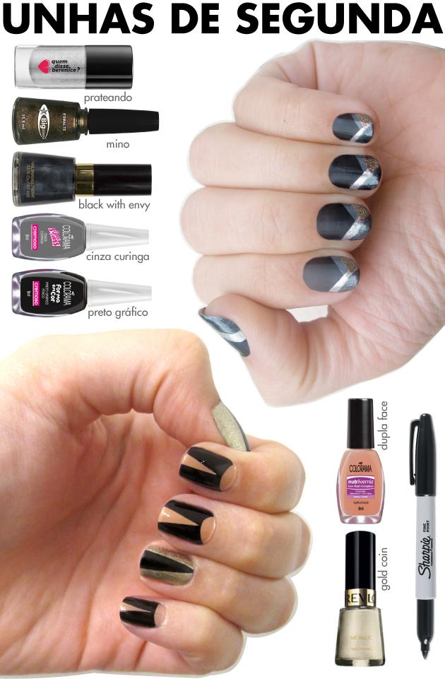 unhas-de-segunda-unhas-diferentes-e-nail-art-colorama-unhas-geometricas-sharpie