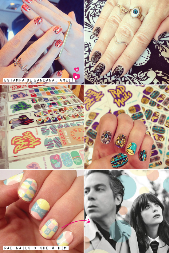 cuticle-nails-art-adesivo-tattoo-hand-dedo-cuticula-decalque-beleza-unhas-esmalte-nail-art-rad-nails-estampa-sticker-adesivo-she-&-him-zooey-deschanel-estampa-bandana