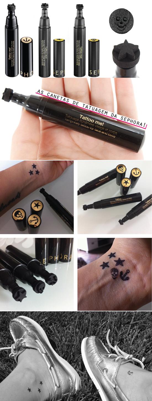 tattoo-me-sephora-pen-skull-anchor-star-stars-tatuagem-caneta-onde-comprar-dica-carimbo