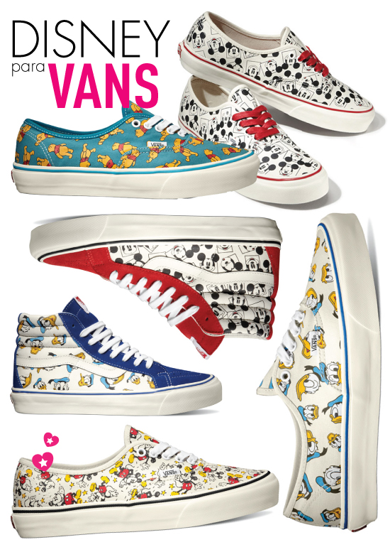 vans-disney-tenis-sneaker-vault-by-vans-colecao-limitada-especial-fofo-disney-mickey-pooh-donald-OG-Authentic-LX
