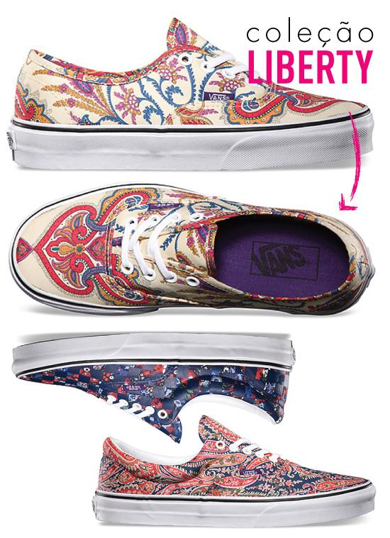vans-disney-tenis-sneaker-vault-by-vans-colecao-limitada-especial-fofo-disney-mickey-pooh-donald-OG-Authentic-LX-liberty-estampa-paisley