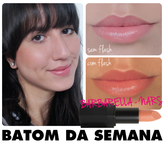 batom-da-semana-swatch-review-resenha-barbarella-nars-nude-rosa-laranja-dica-batom-lipstick-cremoso-blog-make-maquiagem-dica