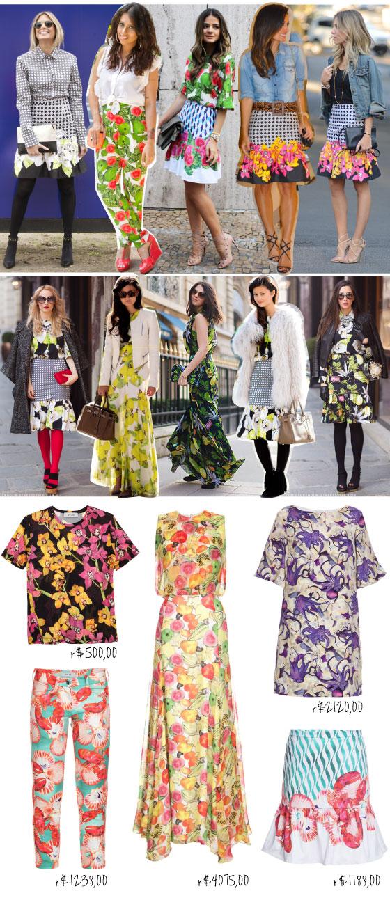 isolda-capas-gloss-glamour-revista-tata-werneck-isabelle-drummond-estampa-floral-looks-blogueiras-bloggers-preco-price-onde-comprar-online-shop