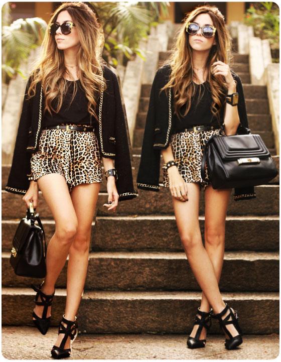 look-do-dia-flavia-linden-fashion-coolture-short-onca-leopard-animal-print-casaqueto-preto-dourado-corrente-