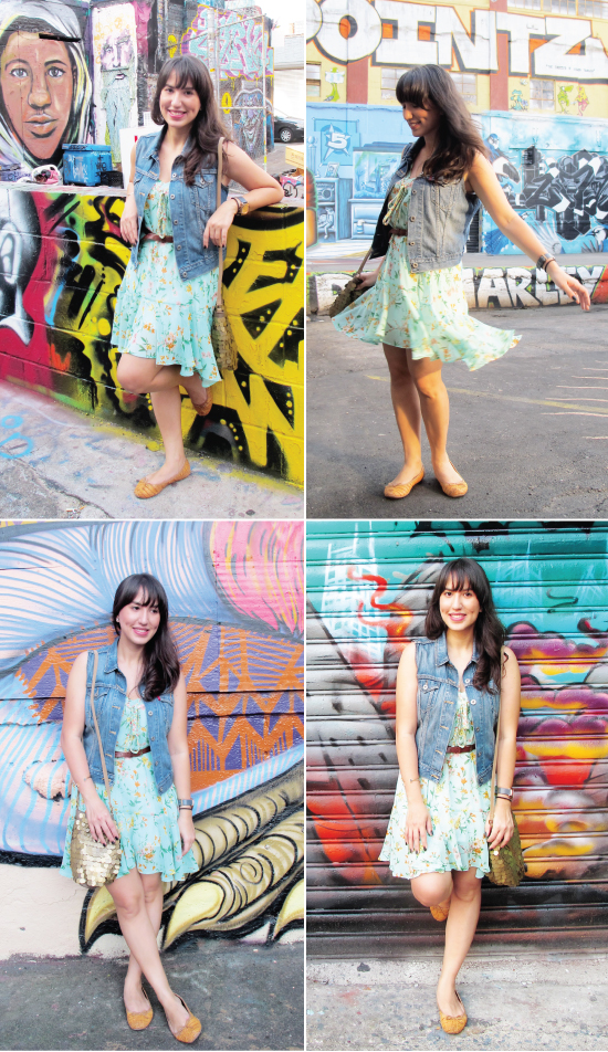 look-do-dia-nossos-looks-mandy-blog-starving-5pointz-astoria-queens-grafite-vestido-florido-colete-jeans-levis-farm-queens-ny
