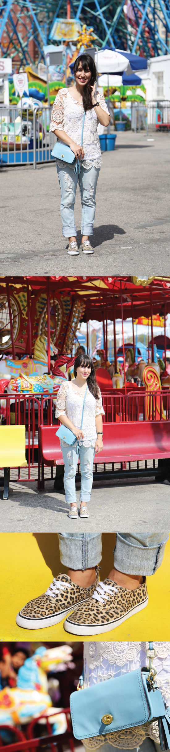 look-coney-island-she-inside-blusa-renda-penny-bag-coach-azul-blue-light-outfit-blog-starving-mandy-calca-rasgada-american-eagle