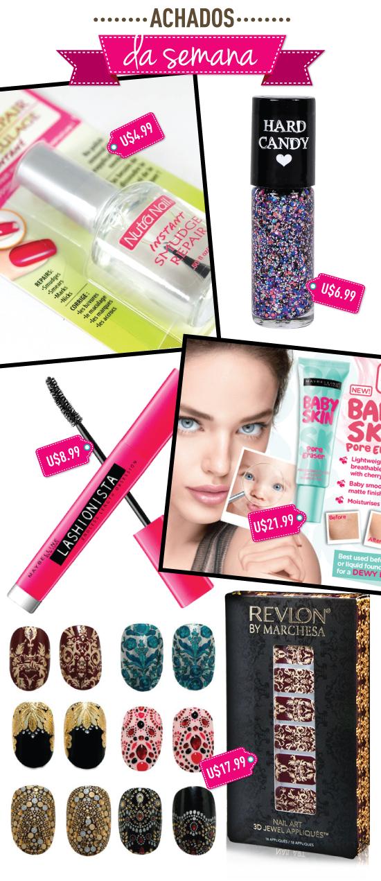 achados-da-semana-ebay-compras-online-vendedor-seller-beleza-maquiagem-maybelline-asia-baby-skin-lancamento-korea-lashionista-rimel-mascara-instant-smudge-repair-unhas-nails-reblon-marchesa-adesivo-sticker-wrap-hard-candy-glitter-polish