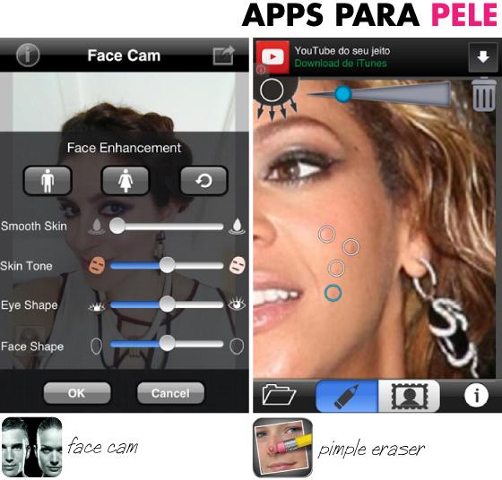app-para-espinha-pele-iphone-android-aplicativo-tratar-pele-maquiagem-instagram-photoshop