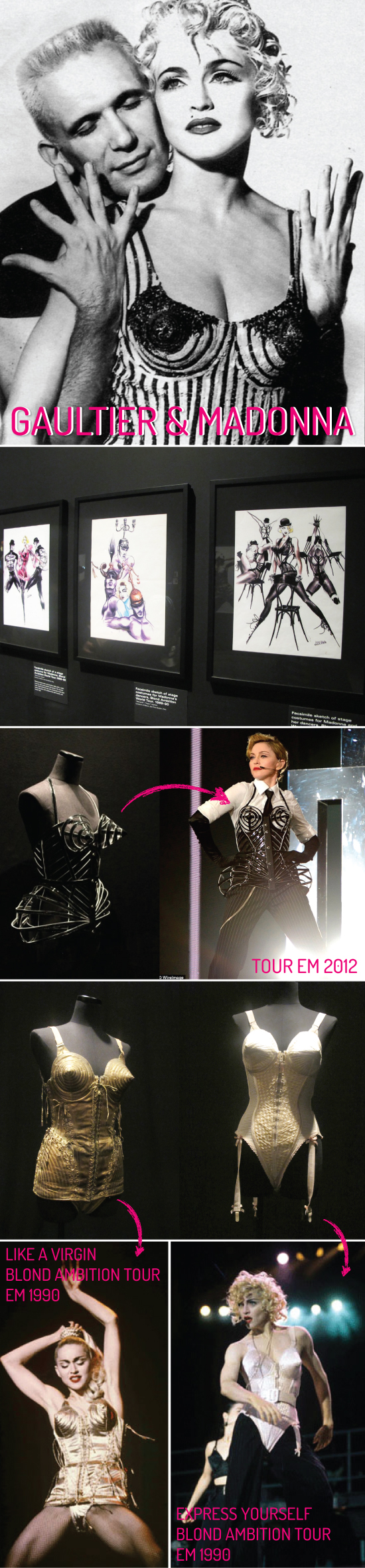 JEAN-PAUL-GAULTIER-EXPO-EXPOSICAO-NY-NEW-YORK-VIAGEM-BROOKLYN-MUSEUM-MODA-FASHION-madonna