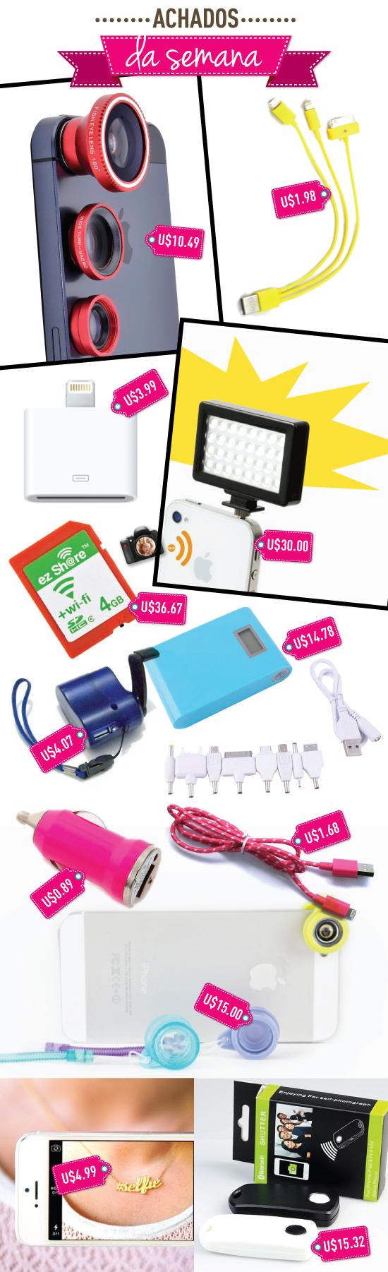 achados-da-semana-gadgets-celular-iphone-acessorios-onde-comprar-chines-site-compras-online-ebay-aliexpress-carregador-5-5s-android-samsung-flash-portatil-charger-selfie-colar