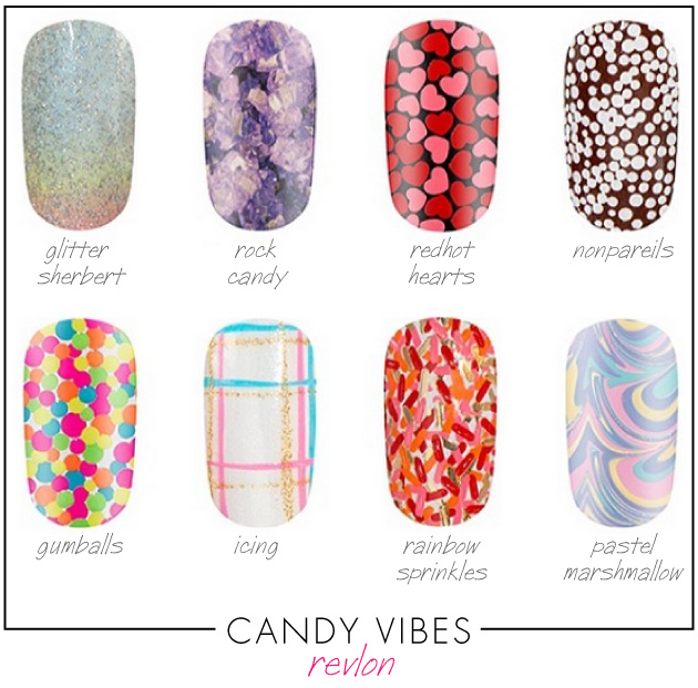 candy-vibes-revlon-3d-jewel-appliques-limited-edition-glitter-sherbert-rock-candy-redhot-hearts-nonpareils-gumballs-icing-rainbow-sprinkles-pastel-marshmallows-nails-revlon