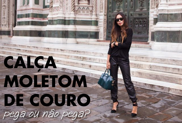 tendencia-calca-moletom-de-couro-leather-sweatpants-trend