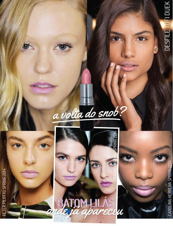 batom-snob-mac-desfile-beleza-spfw-tufi-duek-cor-lilas-lavanda-tendencia-retorno-volta-make-maquiagem-lipstick-batom-como-usar-dica