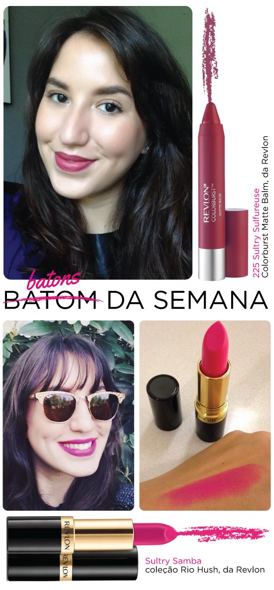 batom-da-semana-batons-revlon-resenha-swatch-cor-rosa-pink-dupe-parecido-candy-yum-yum-mac-lapis-caneta-colorburst-matte-balm-225-sultry-pink-rosa-samba-rio-hush-colecao-mauve