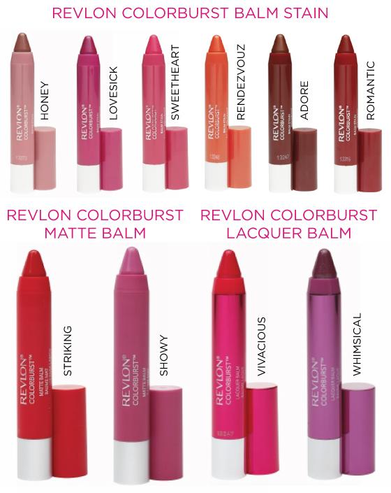 revlon-colorburst-stain-balm-matte-lacquer-cores-lancamento-brasil-batom
