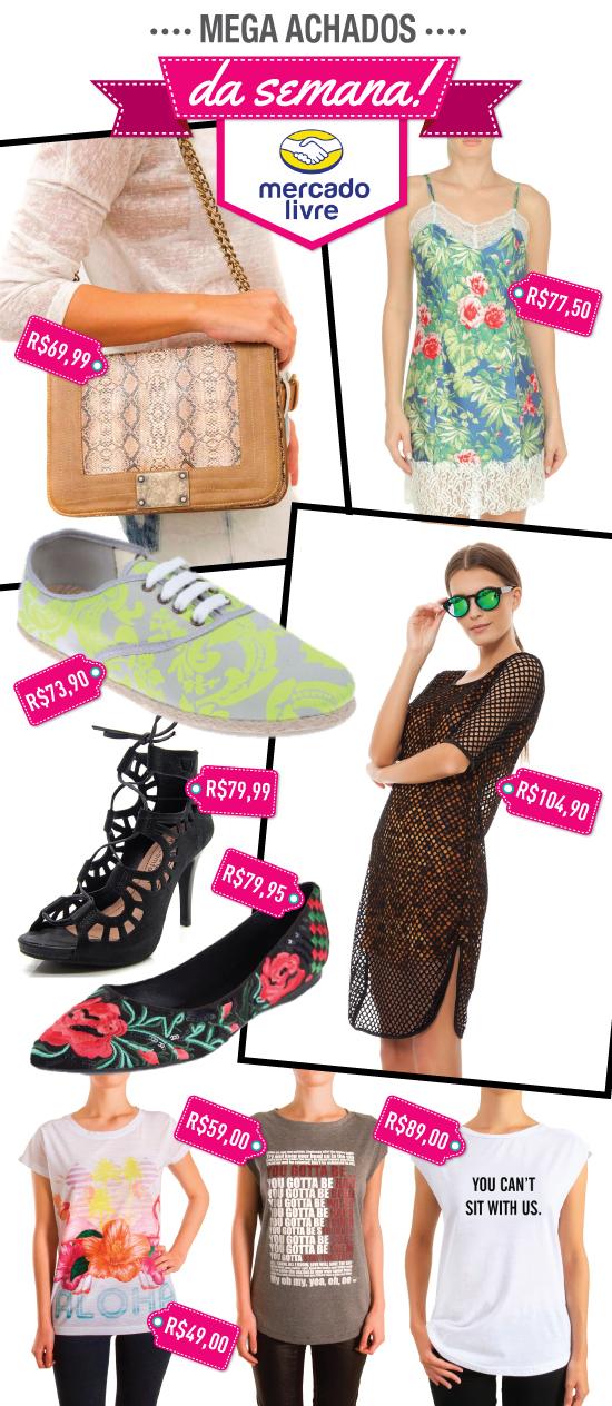 achados-da-semana-mercado-livre-70-desconto-promocao-melon-melon-tshirt-sapato-vestido-bolsa-marcas-oficiais-lojas-online
