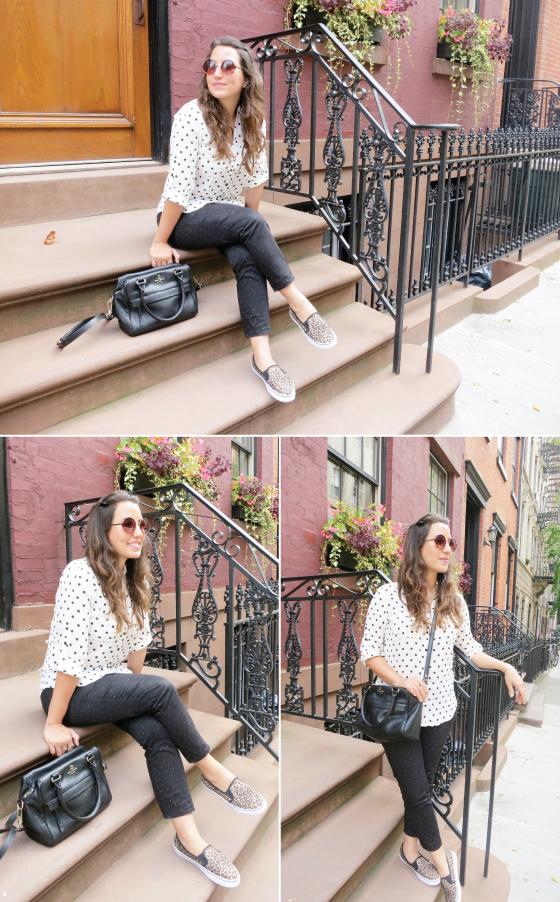 look-do-dia-ny-nova-york-bolinha-poas-oncinha-mix-estampa-kate-spade-bolsa-mandy-starving-blog-blogueira