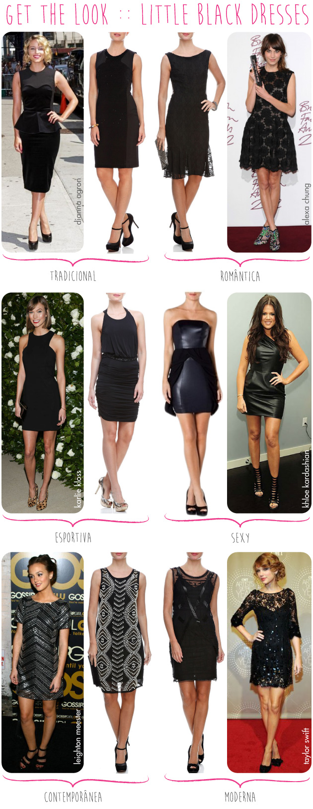 TVZ-mercadolivre-get-the-look-celebridades-little-black-dress