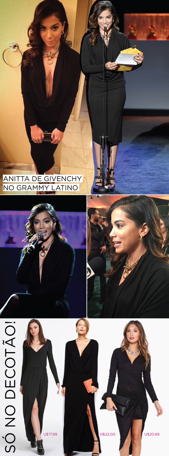 anitta-grammy-latino-givenchy-copiar-get-the-look-vestido-preto-decote-make-beleza-sheinside