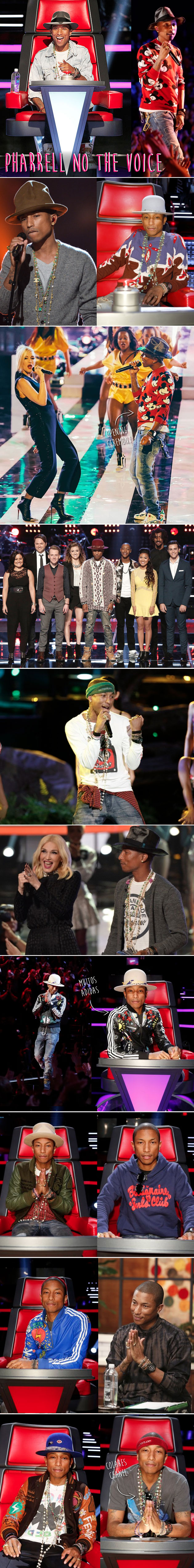 pharrell-williams-the-voice-no-sony-estilo-jaquetas-adidas-colares-chanel-figurino-canal-sony-