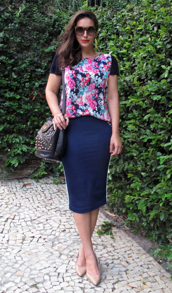 look-do-dia-saia-lapis-carmen-steffens-bolsa-saco-bucket-bag-tachas-