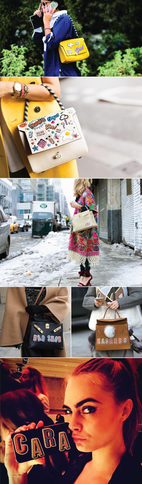 anya-hindmarch-leather-sticker-adesivo-couro-acessorio-street-style-lfw-nyfw-estilo-look-bolsa-bag-london-londres-cara-delevigne