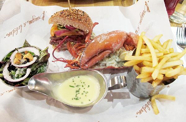 dica-viagem-restaurante-londres-onde-comer-trip-tips-travel-busaba-bob-bob-ricard-jamie-oliver-belgo-burger-lobster-patty-bun-acessivel-barato-chique-thai