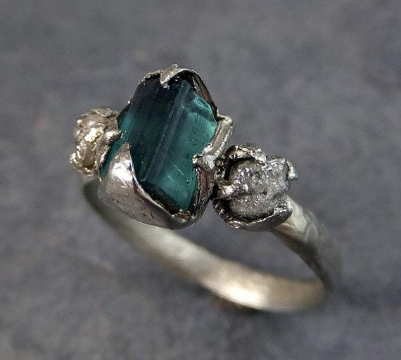 anel pedra bruta etsy 6
