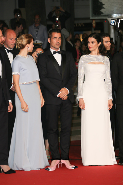 """CANNES, FRANCE - MAY 15:  Lea Seydoux, Colin Farrell and Rachel Weisz attend """"The Lobster"""" premiere during the 68th annual Cannes Film Festival on May 15, 2015 in Cannes, France.  (Photo by Tony Barson/FilmMagic)"""
