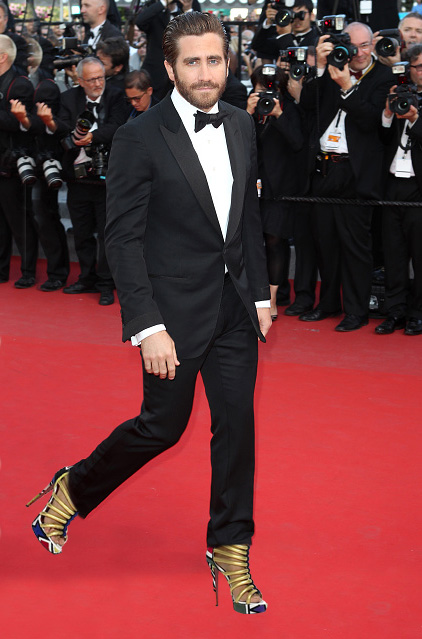"CANNES, FRANCE - MAY 17:  Jake Gyllenhaal attends the ""Carol"" premiere during the 68th annual Cannes Film Festival on May 17, 2015 in Cannes, France.  (Photo by Antonio de Moraes Barros Filho/FilmMagic,)"