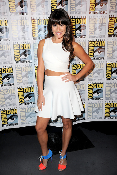 Lea Michele Looks comic-con brad goreski styling looks para baixinhas consultoria de imagem gabriela ganem 3