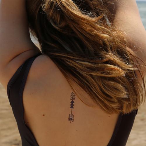 tatuagem temporaria inkbox flecha