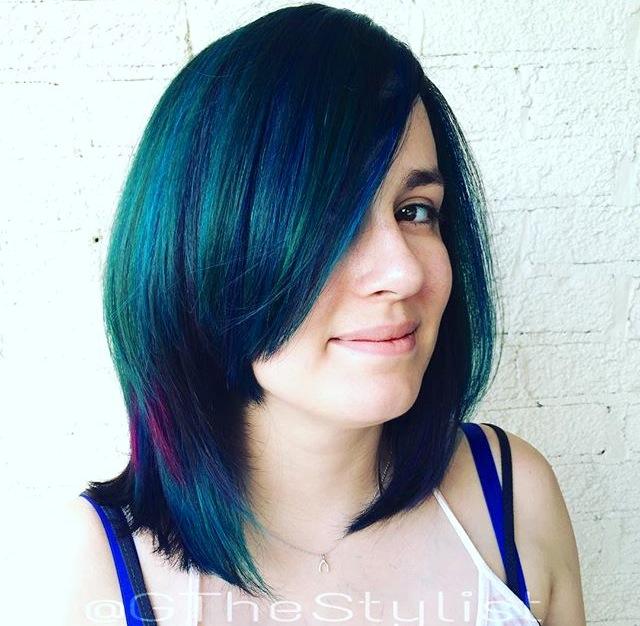cabelo colorido para morenas 10