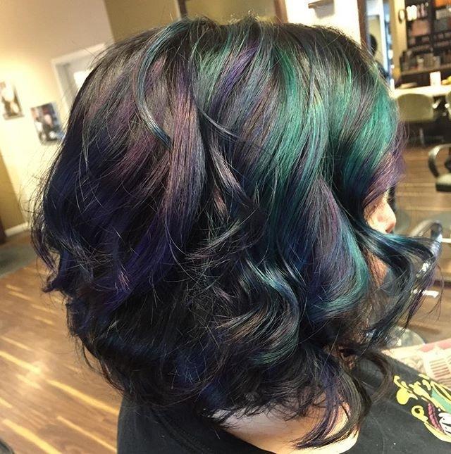 cabelo colorido para morenas 9