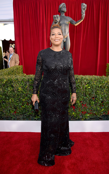 LOS ANGELES, CA - JANUARY 30: Actress Queen Latifah attends The 22nd Annual Screen Actors Guild Awards at The Shrine Auditorium on January 30, 2016 in Los Angeles, California. 25650_013 (Photo by Dimitrios Kambouris/Getty Images for Turner)