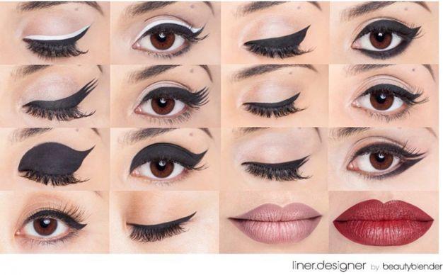 delineado-delineador-cat-eye-gatinho-beleza-eyeliner-ferramenta-make-maquiagem-beauty-blender-liner-designer