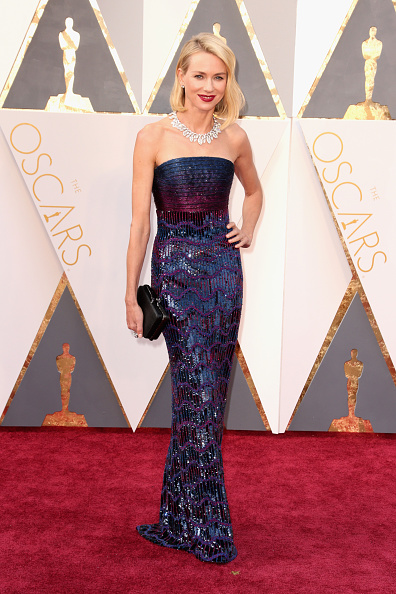 HOLLYWOOD, CA - FEBRUARY 28: Actress Naomi Watts attends the 88th Annual Academy Awards at Hollywood & Highland Center on February 28, 2016 in Hollywood, California. (Photo by Todd Williamson/Getty Images)