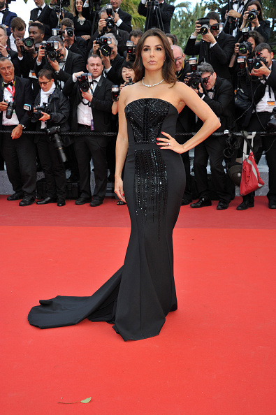 CANNES, FRANCE - MAY12: Eva Longoria attends 'Money Monster' Red Carpet prior to the 69th annual Cannes Film Festival on May 10, 2016 in Cannes, France. (Photo by Camilla Morandi - Corbis)