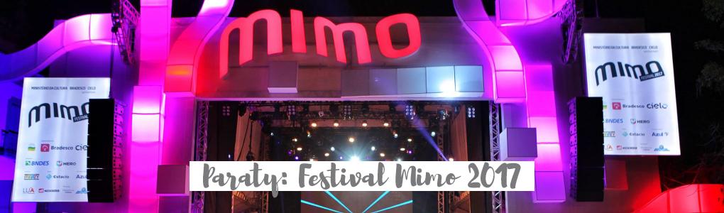 Paraty: Festival Mimo 2017