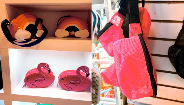 Essa loja que vende as bolsas de arco-íris e flamingo é uma graça e fica lá  no final da Rua da Alfândega. O segundo andar tem várias opções de bolsa e  ... a3508d94efdae
