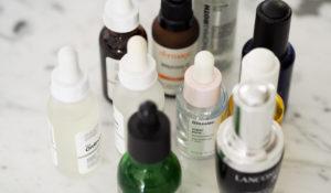 Um novo vício: óleos faciais