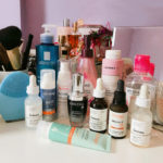 Tentando criar uma rotina de cuidados com a pele